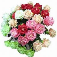 Buy cheap Single rose flower bouquet for wedding party decoration from wholesalers