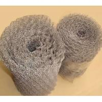0.28mm Thickness Crimped Stainless Steel Knitted Wire Mesh Filter For Farm Fence
