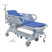China Luxurious Hydraulic Emergency Stretcher Trolley For Hospital With Wheels on sale