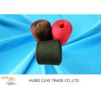 Best Recycle Dyed Polyester Yarn 100% Polyester Stable Fiber For Bags Clothes And Shoes wholesale