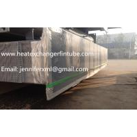 Buy cheap Carbon Steel Base Tube Material Single Row Flat Fin Tube Hot Dip Galvanized product