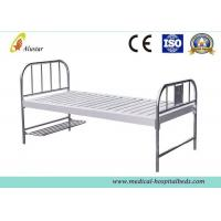 China Custom Flat Medical Hospital Beds With Foot Board Stainless Steel Hole Punching ALS-FB003 on sale