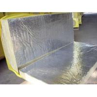 Best Sound Absorption Rockwool Insulation Board Laminated With Aluminum Foil wholesale