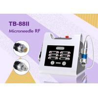Best 2 Handle Radio Frequency Machine With 2MHZ Fractional RF Microneedle Machine For Face Lifting wholesale
