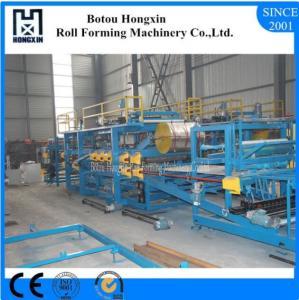 Best Lightweight Concrete Sandwich Panel Production Line 4m / Min Work Capacity wholesale