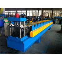 China Large 7.5KW Decoiler Door Frame Forming Machine 1.2mm Thickness on sale