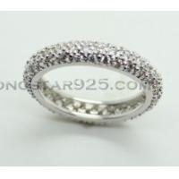 Best 925 sterling silver ring, lady's circle ring wholesale