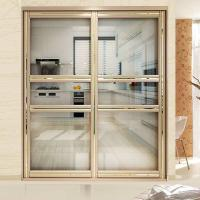 Best Residential Aluminium Frame Glass Sliding Door Sound Insulation Powder Coating wholesale