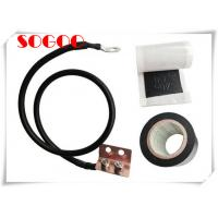 Best 0.8m / 16mm Universal Grounding Kit Energy Saving Feeder Cable Clamp For Telecommunication wholesale
