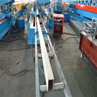 China PLC Control Rain Spout / Downspout Roll Forming Machine 380V 50Hz 3 Phase on sale