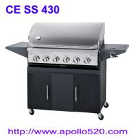 Best Christmas BBQ Gas Grill with 6burner wholesale