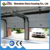 Best Hurricane resistance 40mm insulated panel sectional overhead garage door with finger protection wholesale