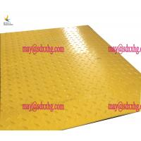 Best excavator construction black trackway reuable polyethylene ground protection mats wholesale