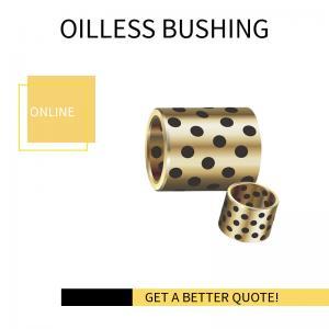 Best C86300 Manganese Bronze Graphite Oilless Standard Bronze Bushing Component wholesale