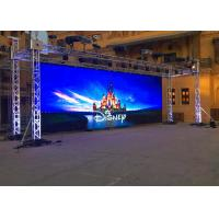 P10 Outdoor Rental LED Display IP 65 Waterproof Aluminum Die Casting Cabinet