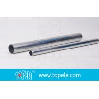 Best 1-inEMT Conduit And Fittings Pre-Galvanized Metal Pipe , Electrical cable conduit wholesale