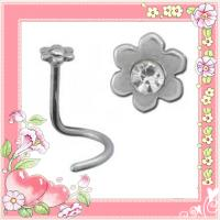 Best 316 stainless steel indian bridal nose ring piercing (WS556) wholesale