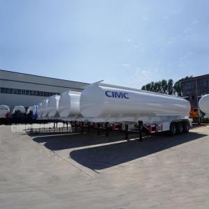 Best 44,000 liters oil trailers oil tank trailer crude oil tanker semi trailer for sale | CIMC TRAILERS wholesale