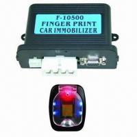 Best Fingerprint Immobilized Car Alarm System with Two-way Disable Relay and Built-in 40A Relay wholesale