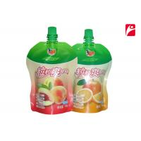 Buy cheap Color Printed Muti-layer 3 Side Seal Pouch With Spout NY/AL/PE Material For from wholesalers
