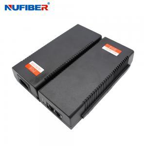 Best IEEE802.3af Power Over Ethernet Injector Single Port 15.4W DC48-56V wholesale