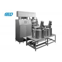 Best Homogenizing Vacuum Emulsifying Mixer Siemens Touch Screen Controlled Type wholesale