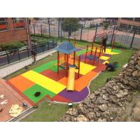 China EPDM Rubber Playground Mats ,Rubber Flooring with Custom Size on sale