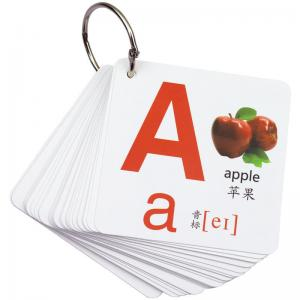 Best Funny Visual Perception 84x84mm Educational Flash Cards For Family Game wholesale
