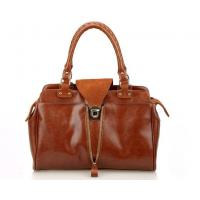 Cheap fancy vintage cow leather women's handbag welcome for European markets for sale