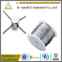 Best Stainless Steel Wire rope For Stainless steel wire rope cross clamp wholesale