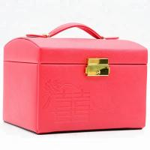 Best New come luxury empty jewellery box suppliers PU leather jewelry storage box wholesale