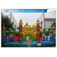China Happy Children Game Inflatable Fun City Micky & Duck Inflatable Kids Toys on sale