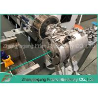 China PVC Coated Plastic Pipe Machine Flexible Metal Corrugated Conduit Pipe Forming Machine on sale