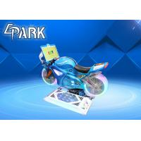 China 150W Kiddie Ride On Motorcycle Crazy Racing Car Game Machine 4 Simultaneous Wifi Online Games on sale