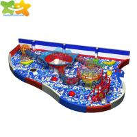 China Attractive Kids Ball Pool Climbing Ropes Nets Obstacle Children Indoor Playground on sale