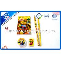 China Animation school writing personalized stationery sets for kids on sale
