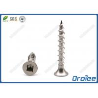 Buy cheap 304 Stainless Steel Bugle Head Square Robertson Drive Deck Screws from wholesalers