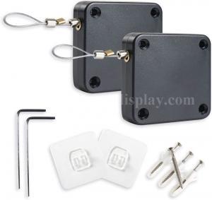 Security Tether Automatic Retractable Punch Free Sensor Door Closer