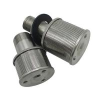 Best SS wedge wire screen sand filter nozzle for water treatment wholesale