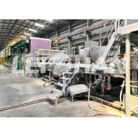 Best 220V / 380V Recycling Tissue Paper Making Machine Large Size With Headbox wholesale