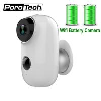 Best 2019 Newest Rechargeable Battery Camera A3 720P Waterproof Outdoor Indoor Wifi IP Camera 2 Way Audio Baby Monitor Camera wholesale