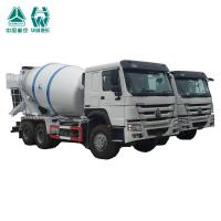 China 4 Stroke Diesel Engine Concrete Mixer Truck With One Sleeper And Two Seats on sale