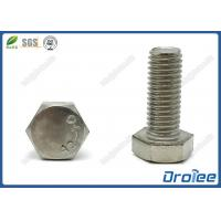 Best 18-8 / 304 / 316 Stainless Steel Hex Cap Bolts wholesale