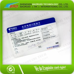 Best scratch pvc cards wholesale