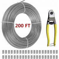 Best T316 Stainless Steel 1/8 Aircraft Wire Rope For Cable Railing Kits 200 FT wholesale