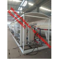 Best 2019s cheapest price 25m3 mobile skid lpg gas refilling plant with double scales for sale, skid-mounted lpg gas station wholesale