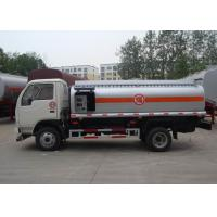 China 6000 liters fuel tank truck,  oil tanker truck for sale on sale