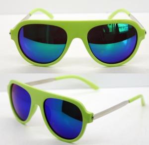 Best AC Lens Retro Plastic Frame Sunglasses With 400UV Protection wholesale