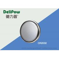 China Customized Voltage / Size Button Cell Battery CR2032 High Capacity on sale