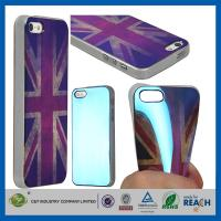 Best Retro UK Style TPU Gel Soft Girls Fashion Durable Cell Phone Cases For Apple Iphone 5S wholesale